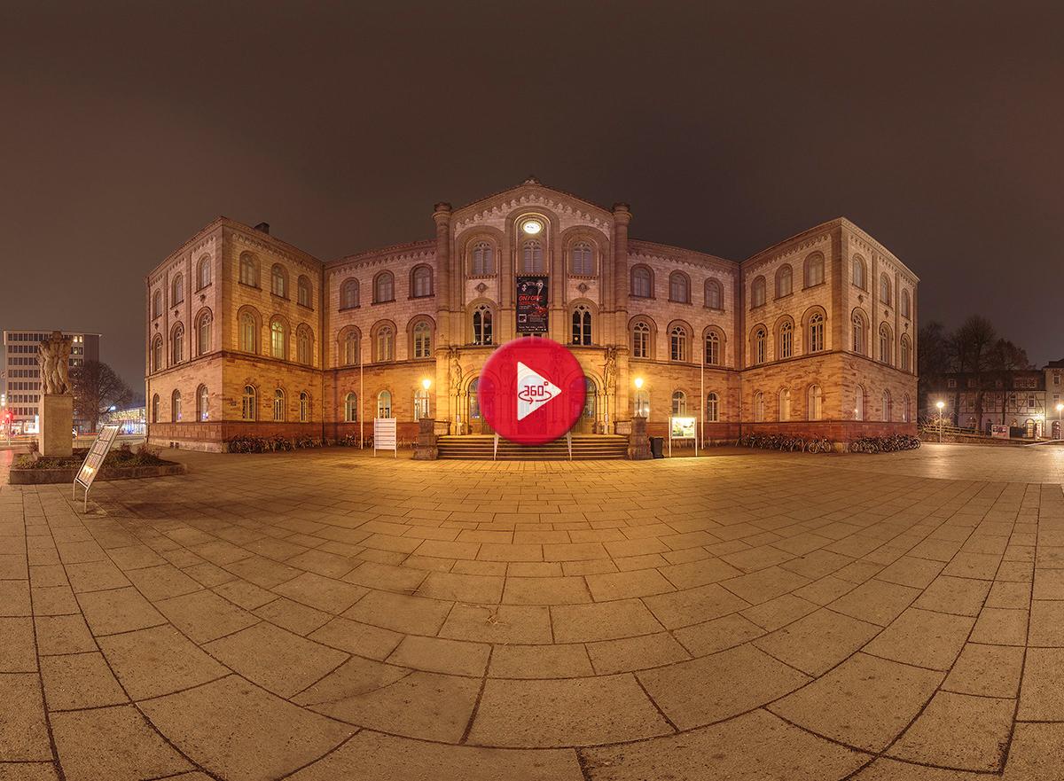 360 Grad Panoramafoto Auditorium Göttingen
