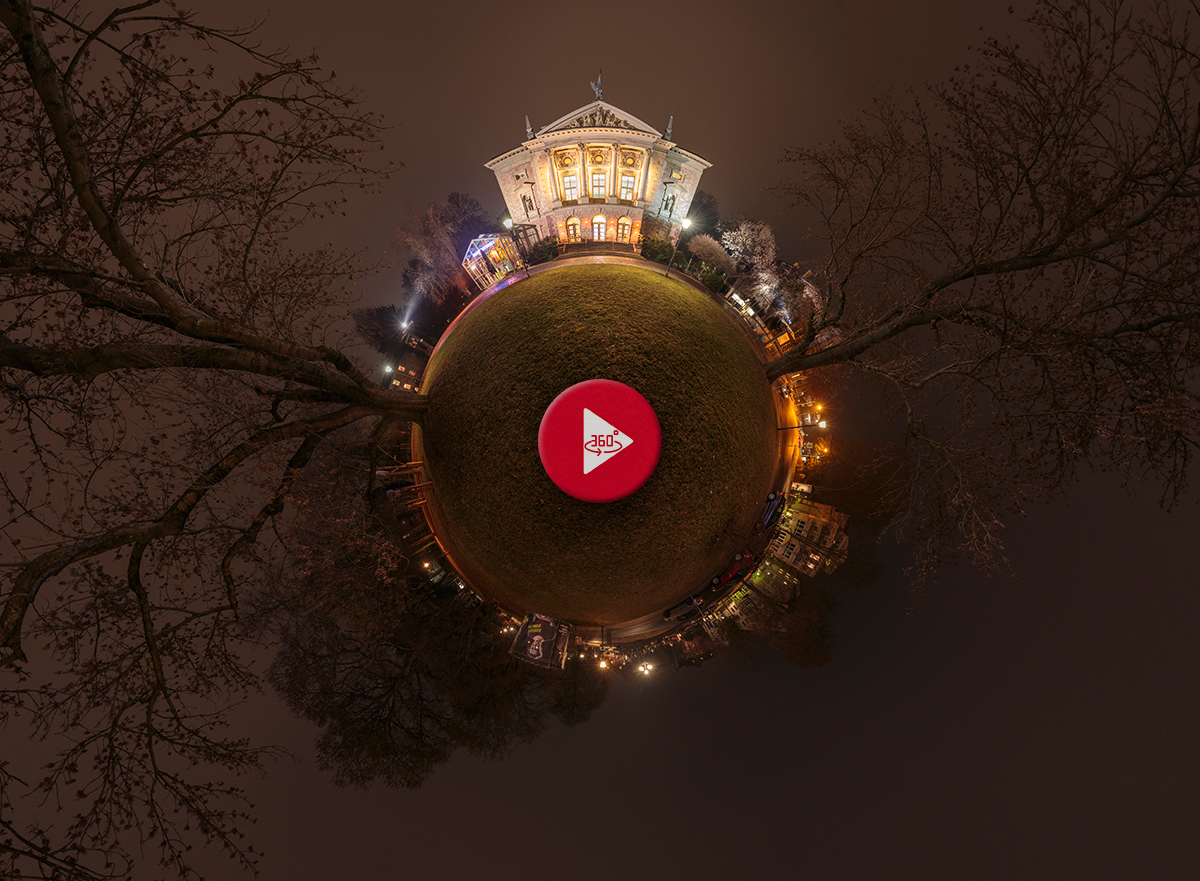 360 Grad Panoramafoto Deutsches Theater Göttingen