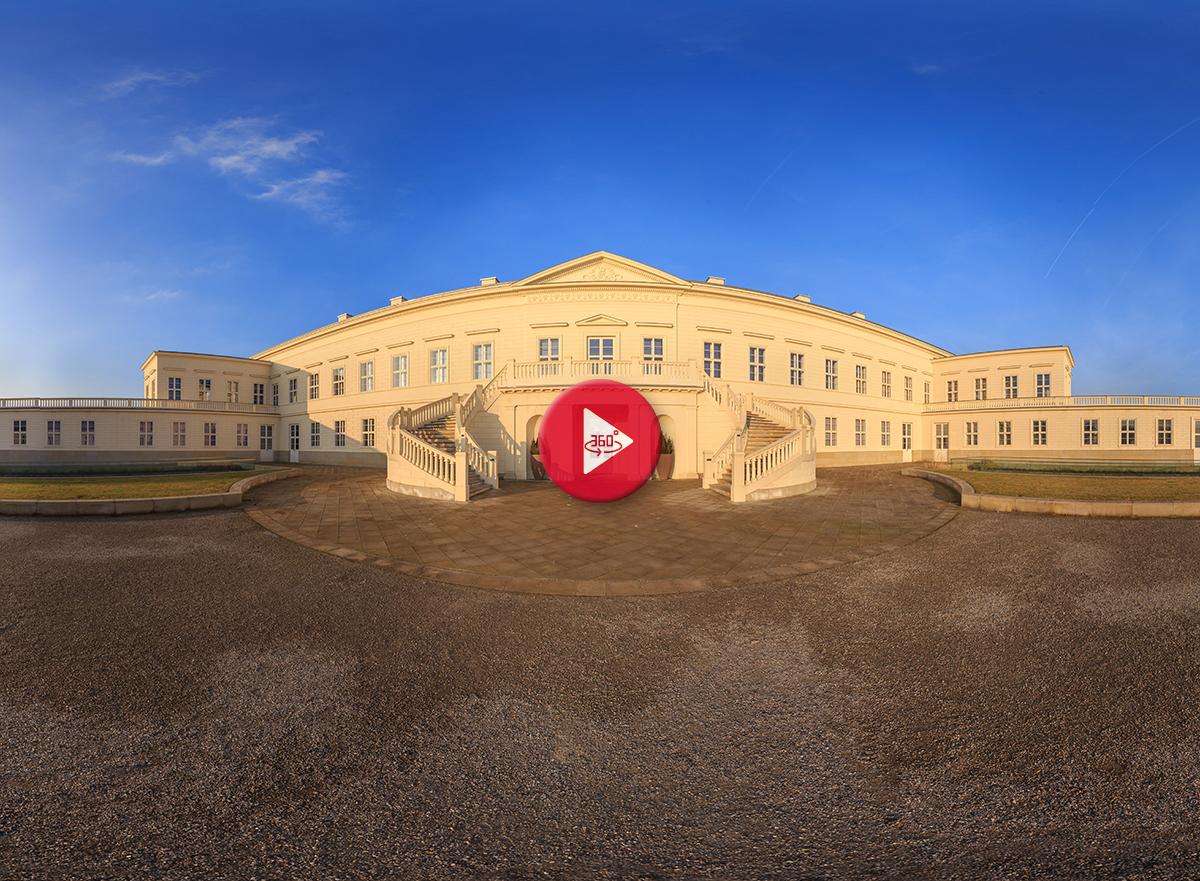 360 Grad Panoramafoto Herrenhäuser Gärten Hannover