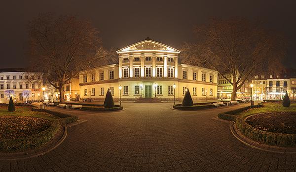360 Grad Panorama Foto Wilhelmsplatz Göttingen