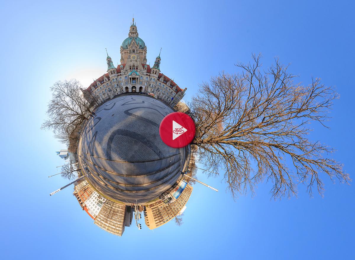 360 Grad Panorama Fotos Herrenhäuser Gärten Hannover