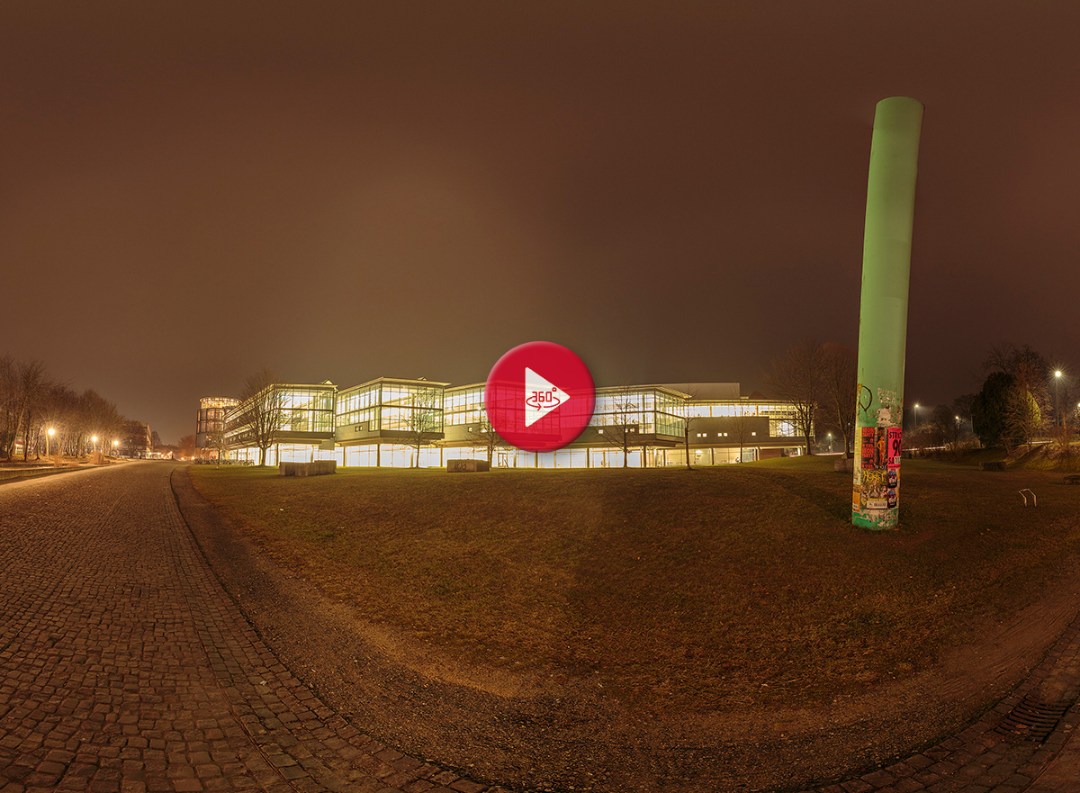 360 Grad Panoramafoto SUB Uni Göttingen