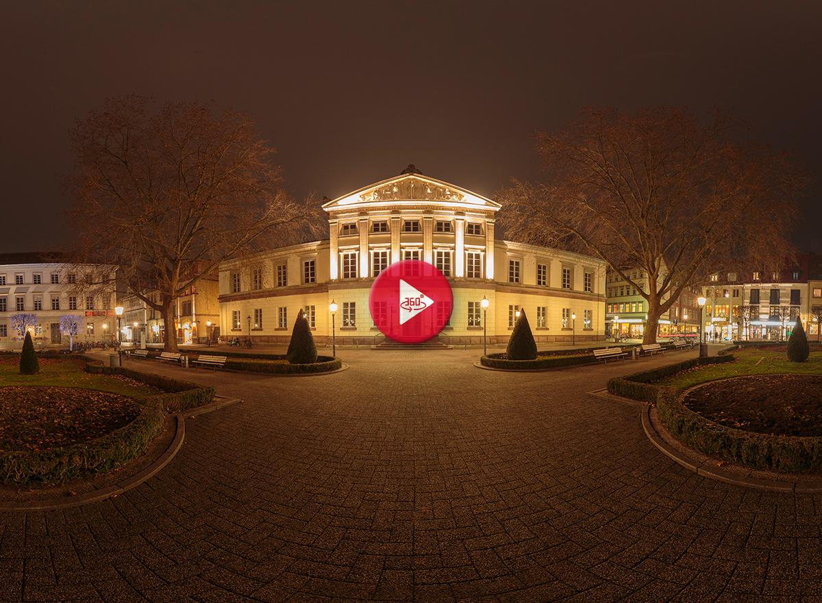 360 Grad Panoramafoto Wilhelmsplatz Göttingen