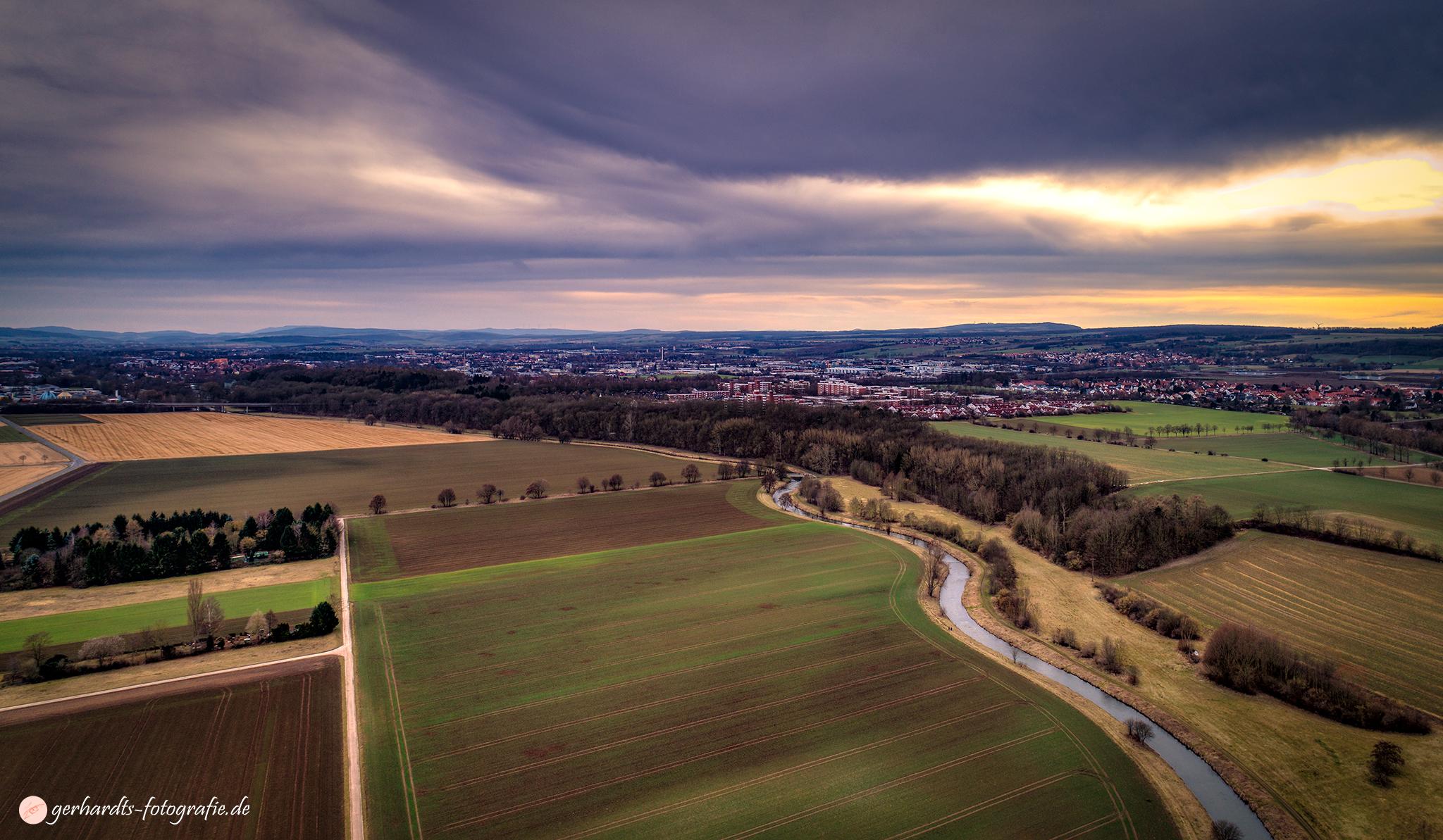 Luftbild Göttingen Holtenser Berg | Luftbildaufnahmen Göttingen Südniedersachsen