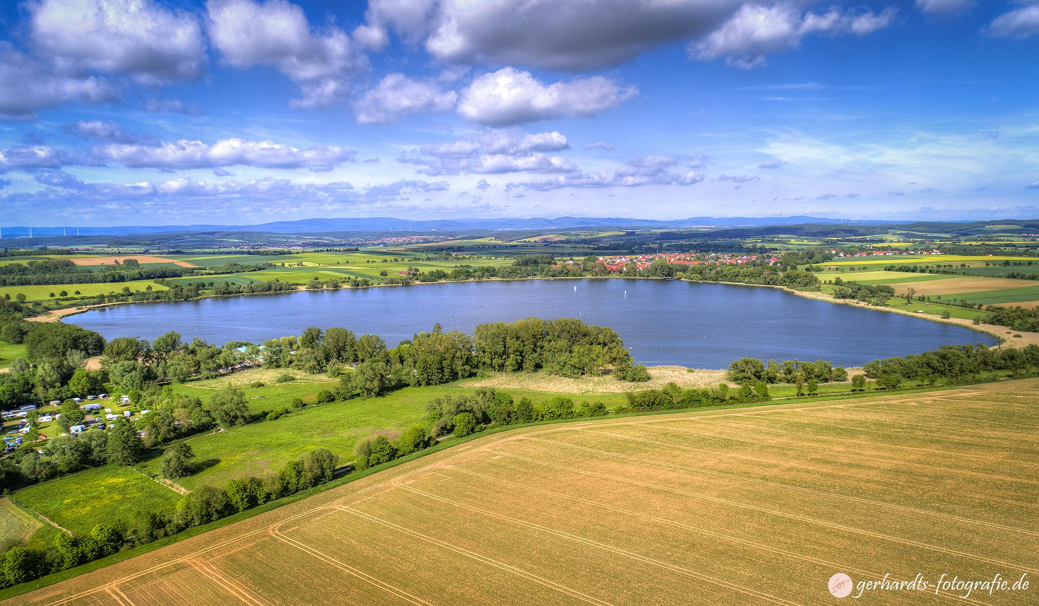 Luftbild Seeburger See | Luftbildaufnahmen Göttingen Südniedersachsen