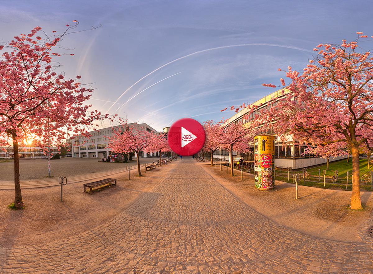 360 Grad Panorama Foto Universität Göttingen
