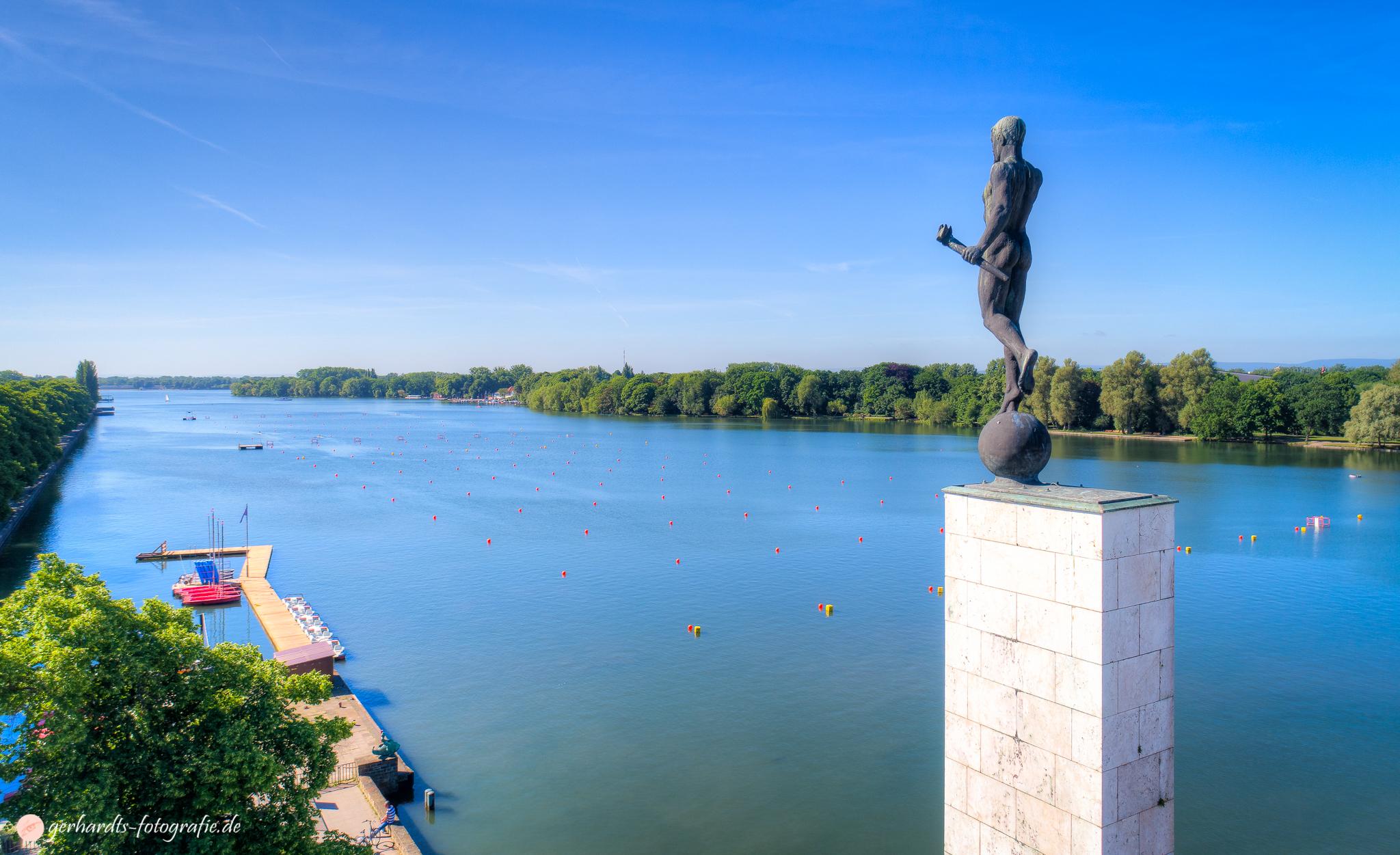 Luftbild Maschsee Hannover