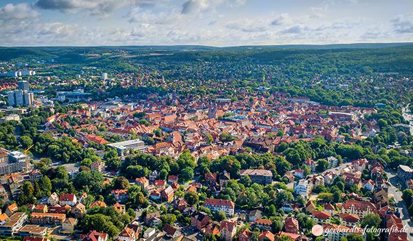 Luftaufnahmen Luftbilder Göttingen Niedersachsen