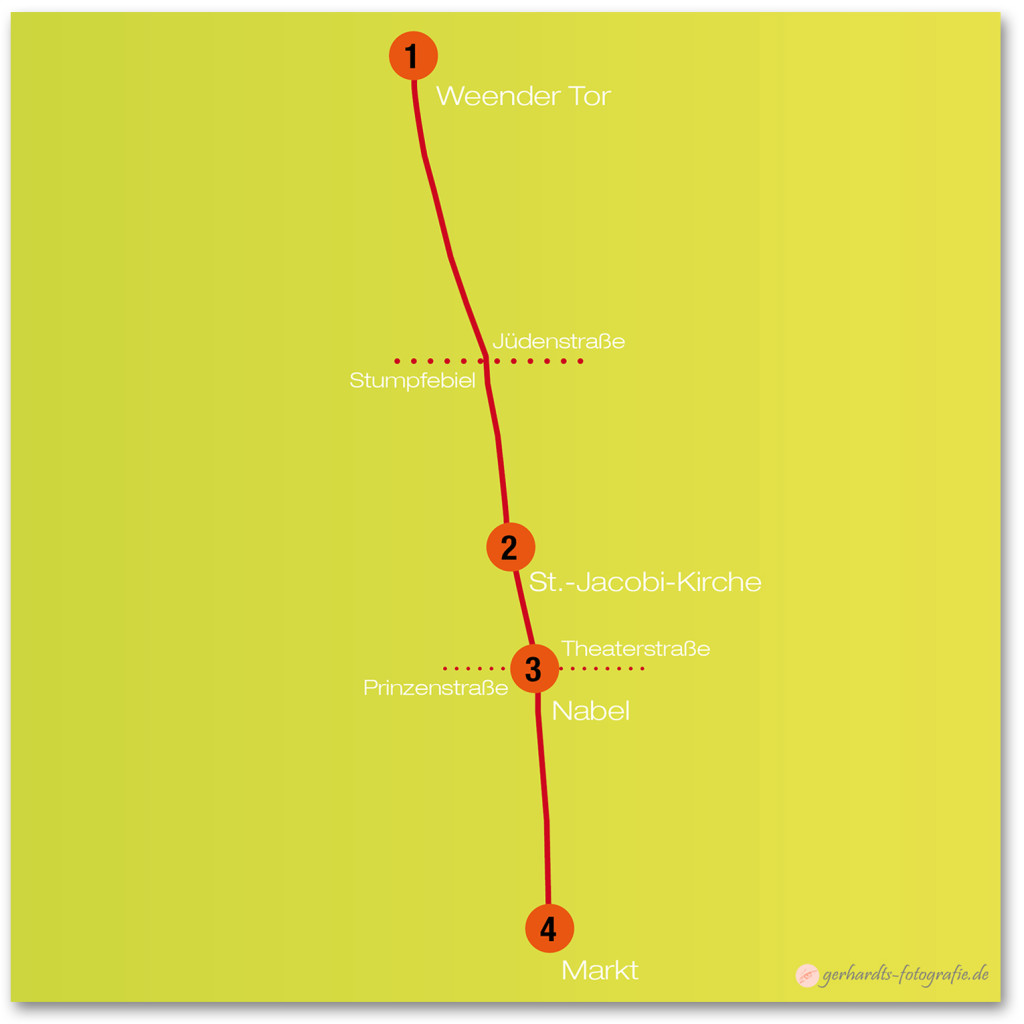 Karte Weender Straße