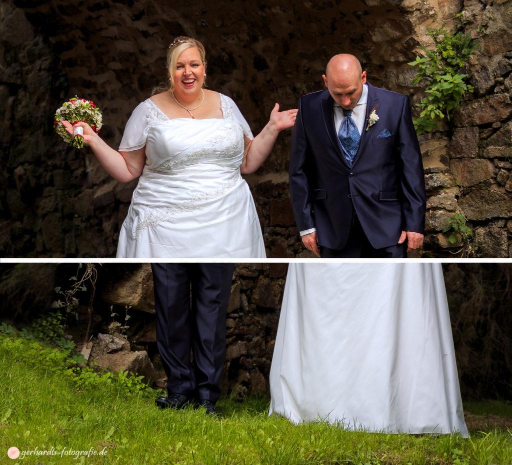 Hochzeitsfotograf Göttingen | Paarbild lustig | Hochzeitsfotografie