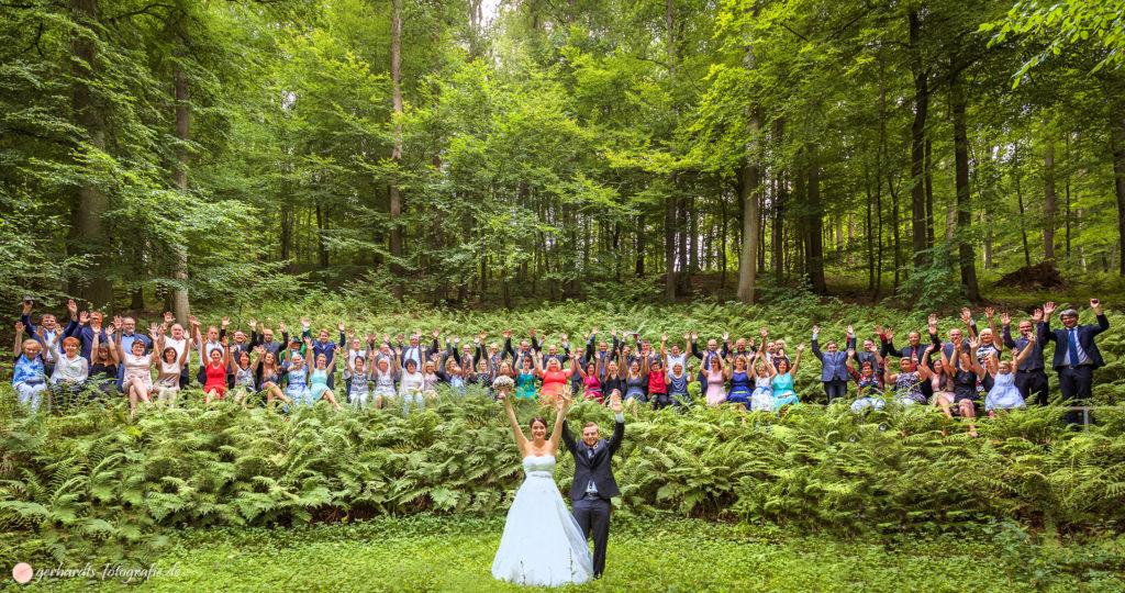 Hochzeitsfotograf Göttingen | Gruppenbild | Hochzeitsfotografie