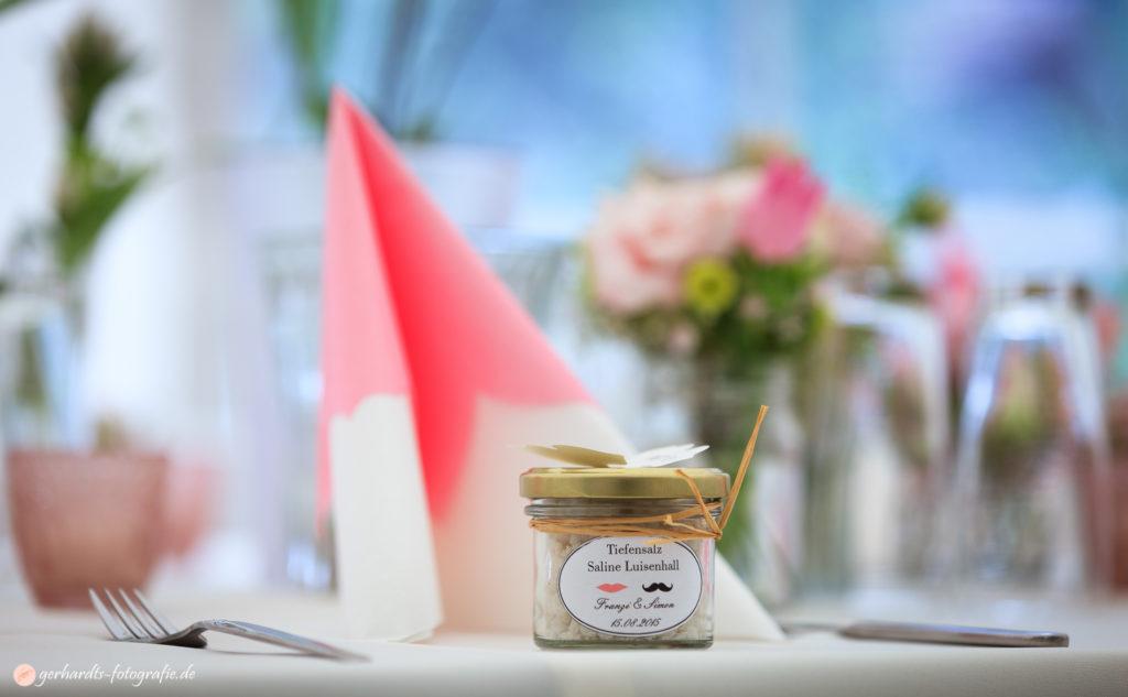 Hochzeitsfotograf Göttingen | Tischdeko Hochzeit | Hochzeitsfotografie