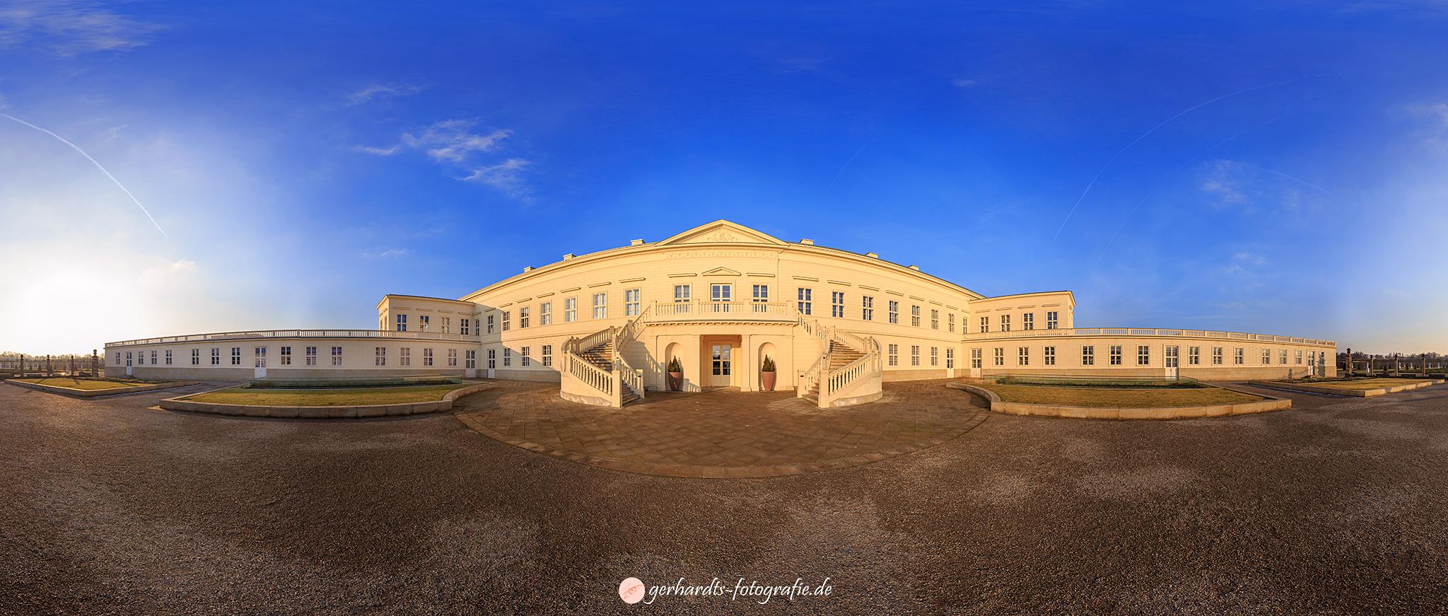 360 Grad Panoramafotos Herrenhäuser Gärten Hannover Schloss Herrenhausen