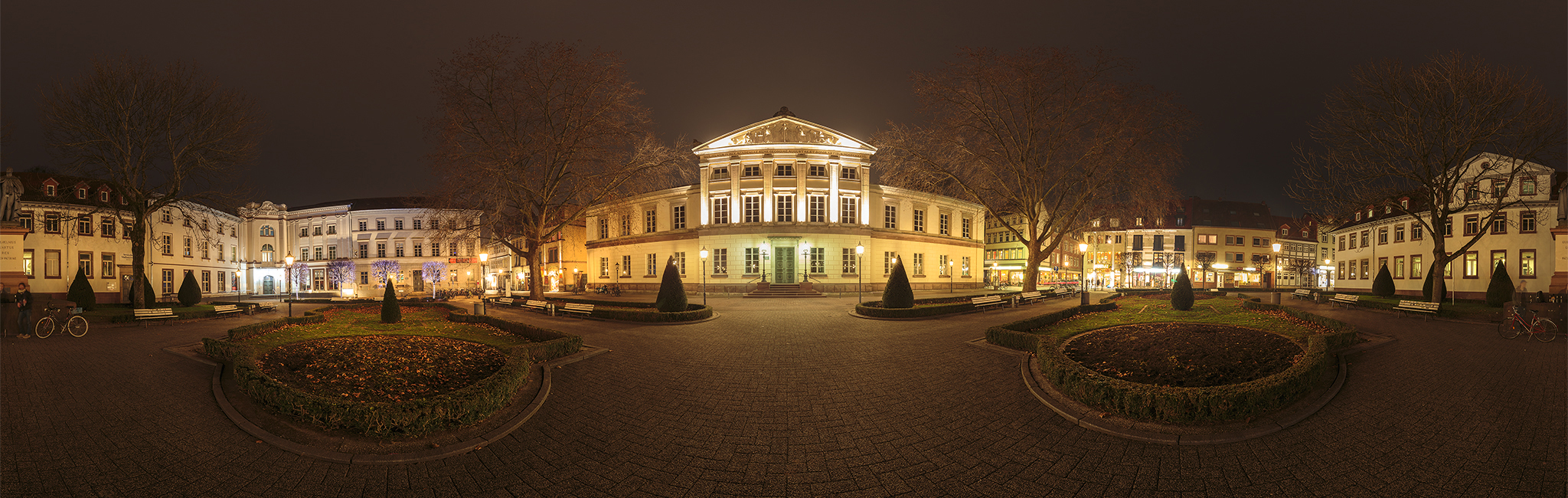 360 Grad Panorama Foto Wilhelmsplatz Göttingen | Fotograf Göttingen