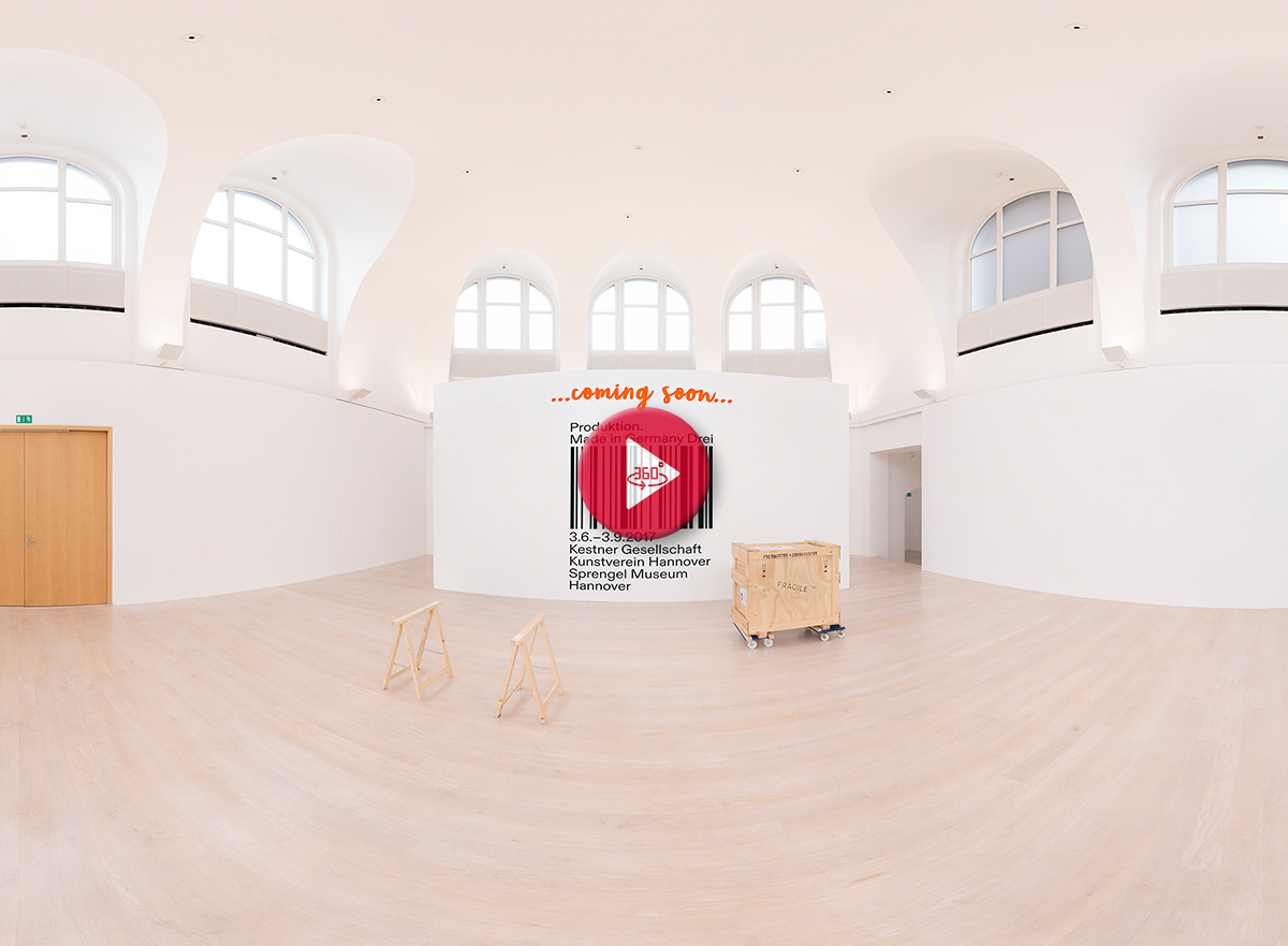 360 Grad Panoramafoto Made in Germany Hannover