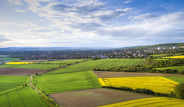 Luftbildaufnahmen Göttingen Südniedersachsen