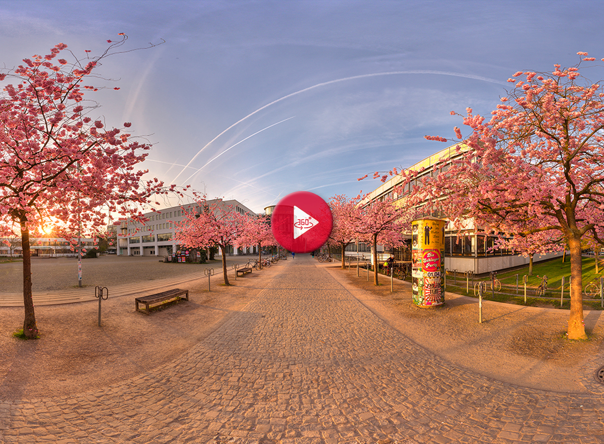 360 Grad Panorama Foto Universität Göttingen