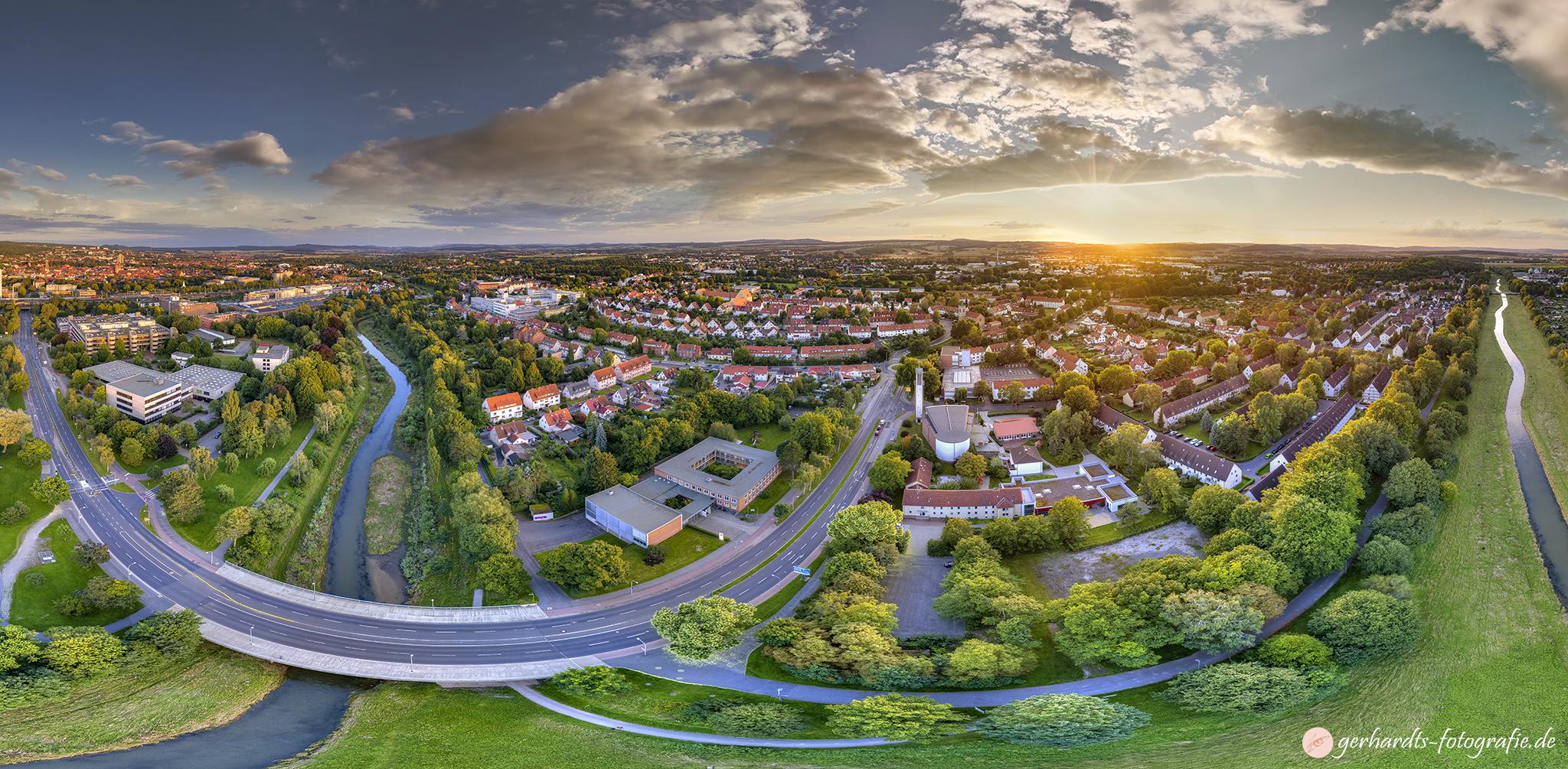 Luftaufnahme Göttingen Weststadt