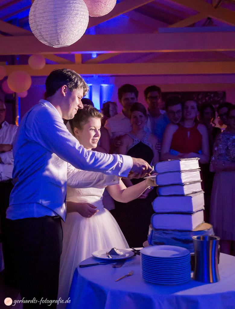 Die Hochzeitstorte...