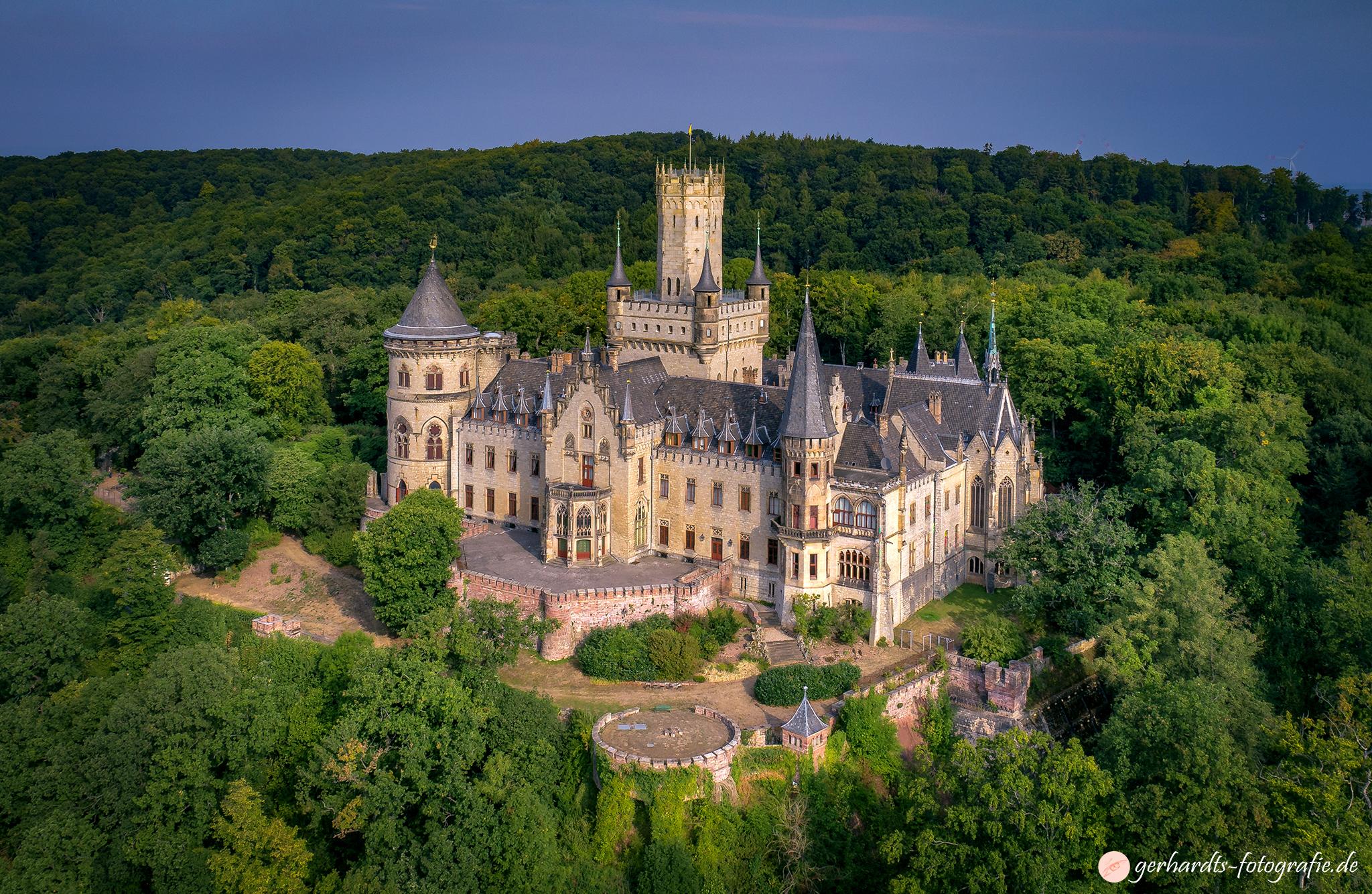 Schloss Marienburg Hannover Luftbildfotografie Göttingen
