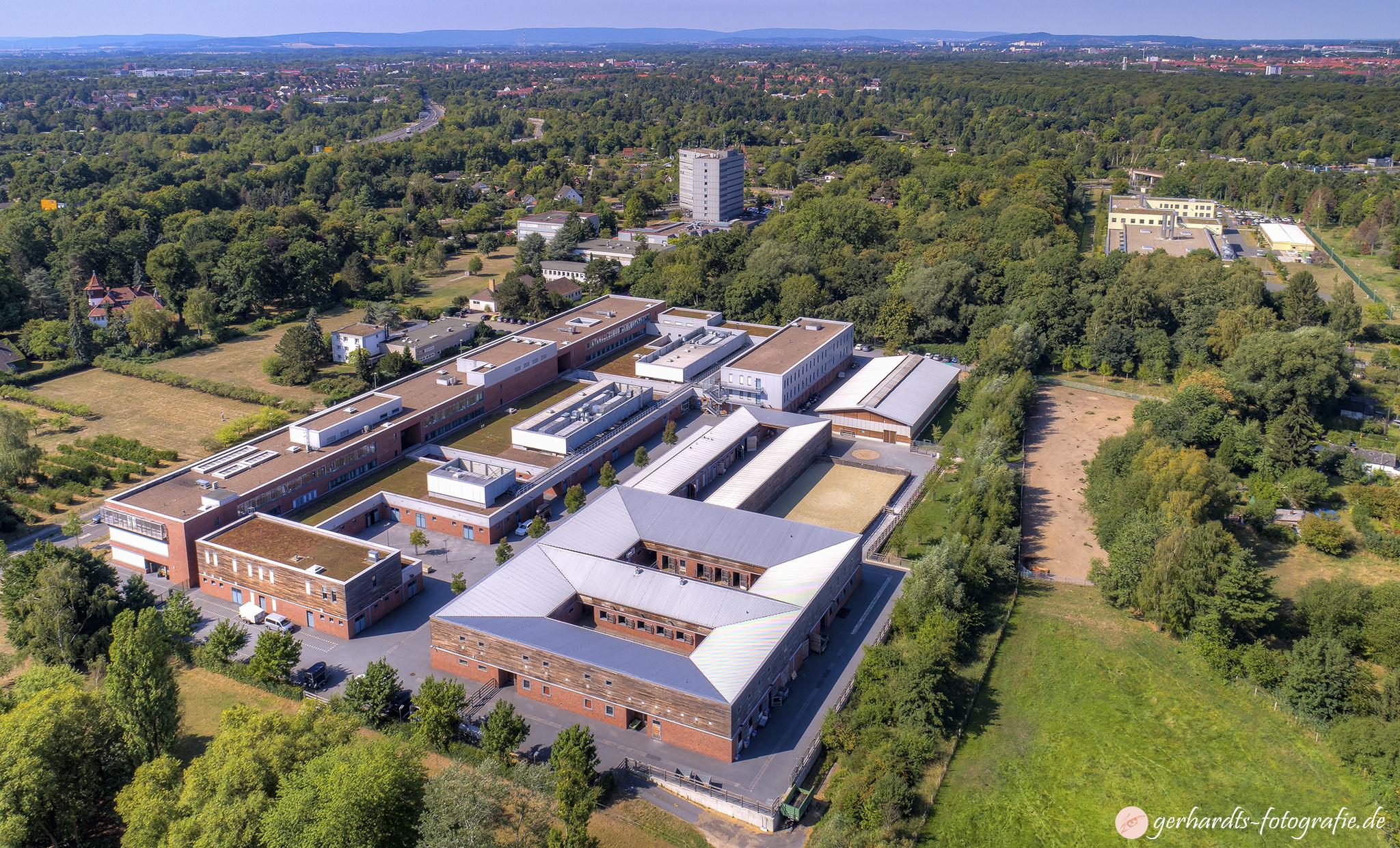 Tierärztliche Hochschule Hannover TiHo Luftbild - Luftbildfotografie Göttingen