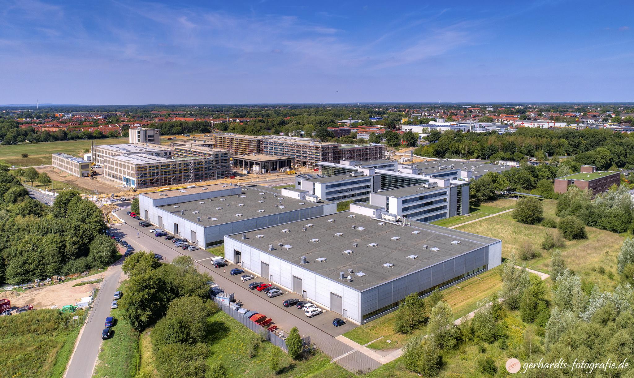 Leibniz Universität Hannover PZH Luftbild - Luftbildfotografie Göttingen