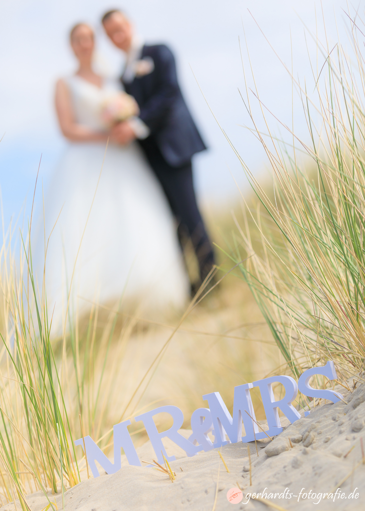 Mr & Mrs - Hochzeitsfotograf Wangerooge