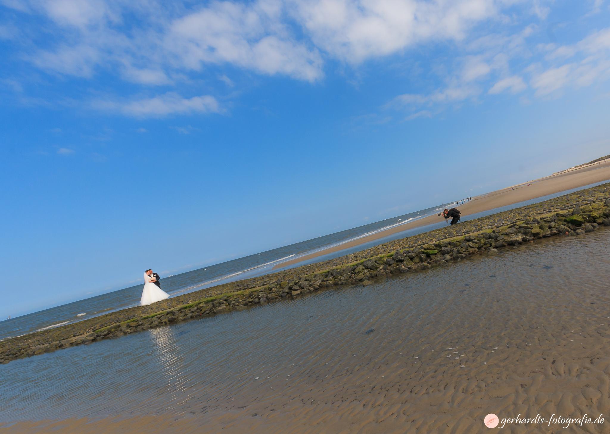 Hochzeit auf Wangerooge - Behind the Scenes - Hochzeitsfotograf Wangerooge