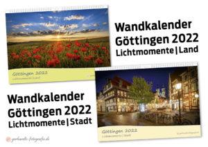 Kalender Göttingen 2022 Lichtmomente